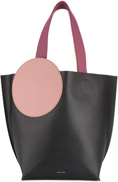 Roksanda Elder leather tote with circle patch