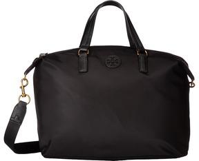 Tory Burch Scout Nylon Slouchy Satchel Satchel Handbags - BLACK - STYLE
