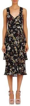A.L.C. Women's Luna Floral Silk Sleeveless Dress