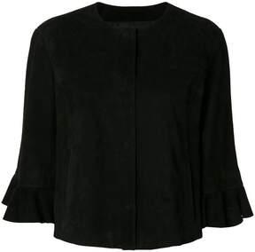 Drome frill sleeve jacket