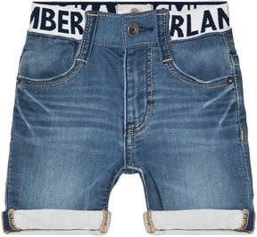 Timberland Kids Light Wash Denim Shorts