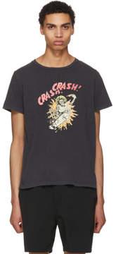 Remi Relief Black SP Finish Crash Crash Skull T-Shirt