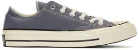 Converse Grey Chuck Taylor Canvas Vintage Sneakers
