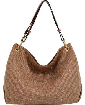 Mellow World Desiree Studded Hobo Handbag (Women's)