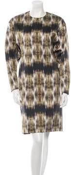 Celine Digital Print Dress w/ Tags
