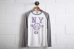 Tailgate Men's NYU Baseball Shirt