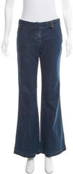 Tahari Mid-Rise Wide-Leg Jeans