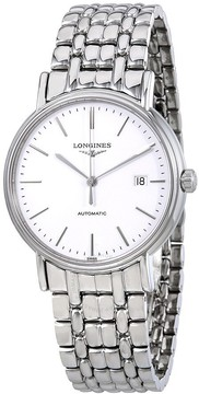 Longines Presence Automatic White Dial Men's Watch L49214126