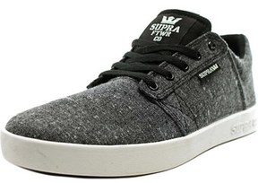 Supra Kids Westway Round Toe Canvas Sneakers.