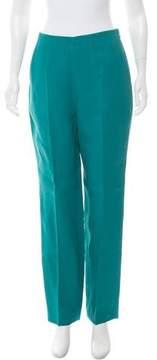 DELPOZO Linen High-Rise Pants w/ Tags
