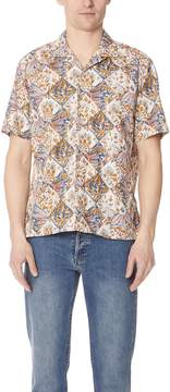 Gitman Brothers Short Sleeve Tile Batik Shirt