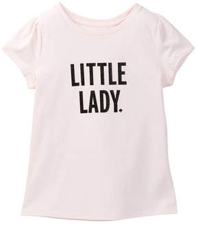 Kate Spade Little Lady Graphic Tee (Big Girls)