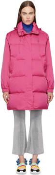 Emilio Pucci Pink Down Puffer Coat