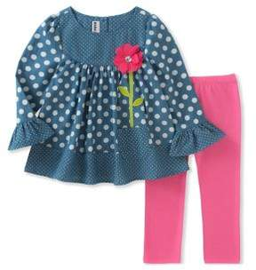 Kids Headquarters Baby Girl's Tunic & Leggings Set