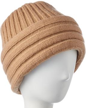 Portolano Men's Ribbed Cashmere & Wool-Blend Hat