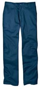 Dickies Men's Relaxed Fit Cotton Flat Front Pant 30 Inseam.