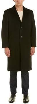 Hart Schaffner Marx Sheffield Wool & Cashmere-blend Coat.