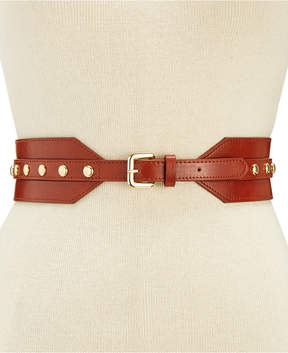 INC International Concepts I.n.c. Stud Stretch Belt, Created for Macy's