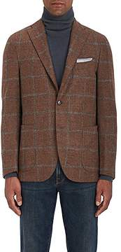 Boglioli Men's Checked Alpaca-Blend Two-Button Sportcoat