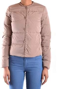 Geospirit Women's Beige Polyamide Outerwear Jacket.