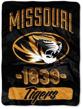 Northwest Company Missouri Tigers Micro Raschel Varsity Blanket