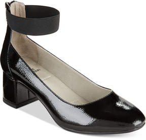 White Mountain Makayla Block-Heel Dress Pumps Women's Shoes