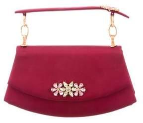 Christian Lacroix Embellished Satin Evening Bag