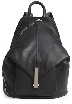 KENDALL + KYLIE Koenji Leather Backpack - Black