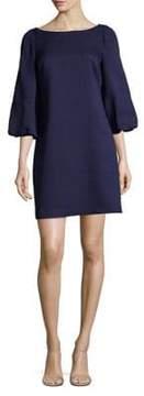 Eliza J Puff-Sleeve Dress