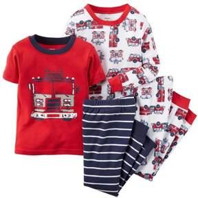 Carter's Little Boys 4 Piece Snug Fit Cotton Pajamas