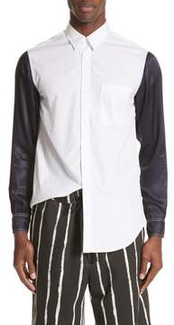 3.1 Phillip Lim Woven Shirt with Rayon Sleeves