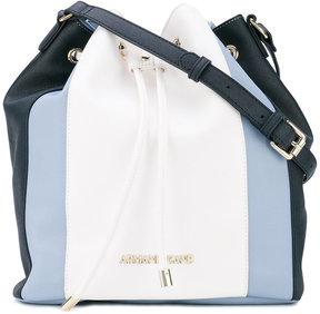 Armani Jeans contrast satchel