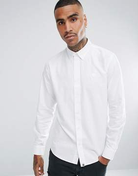 Pretty Green Sterling Oxford Shirt in White