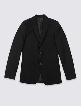 Marks and Spencer Senior Boys' Longer Length Blazer