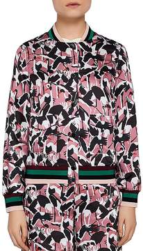 Ted Baker Colour by Numbers Oosel Printed Bomber Jacket
