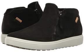 Ecco Soft 7 Low Cut Zip Bootie Women's Shoes