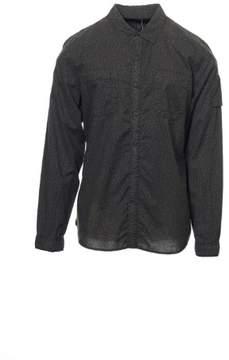 Converse Black Canvas Men's Black Floral Button Down Shirt