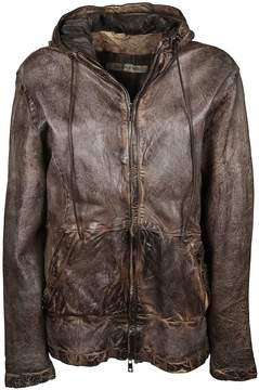 Giorgio Brato Paneled Hooded Jacket