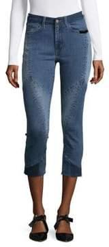 Buffalo David Bitton Faith Frayed Ankle Jeans
