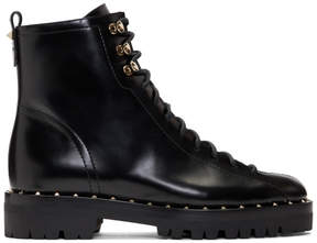 Valentino Black Garavani Soul Rockstud Combat Boots