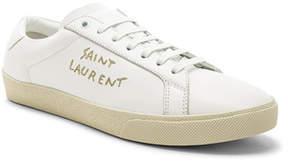 Saint Laurent Leather SL/06 Court Classics