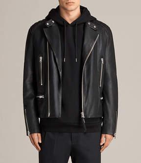 AllSaints Reimer Leather Biker Jacket