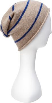 Portolano Men's Cashmere Striped Hat