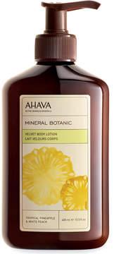 Ahava Mineral Botanic Tropical Pineapple & White Peach Velvet Body Lotion