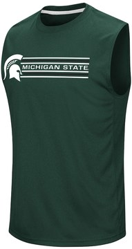Colosseum Men's Campus Heritage Michigan State Spartans Circuit Muscle Tee