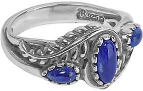 American West Leaf & Flower Gemstone Ring