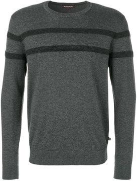 MICHAEL Michael Kors contrast stripe jumper