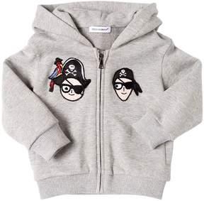 Dolce & Gabbana Pirates Family Cotton Sweatshirt