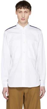 Junya Watanabe White Check Shirt