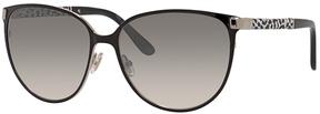 Safilo USA Jimmy Choo Posie Oval Sunglasses
